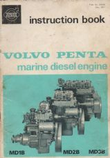 Volvo Penta Instruction Booklet MD1B, MD2B, MD3B